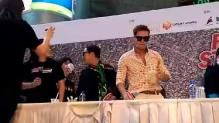 141004金鐘國RM香港FM簽名會大跳熱舞片段