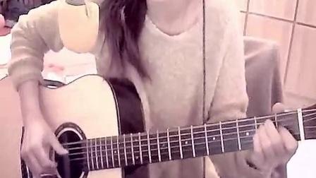 【女生吉他弹唱】桃子歌丶喵小姐