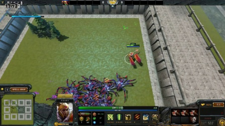 DOTA2 RPG Custom Hero Survival单通