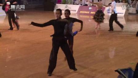 【会员】专业16岁十项全能组拉丁舞胡跃骞戴宁桑巴