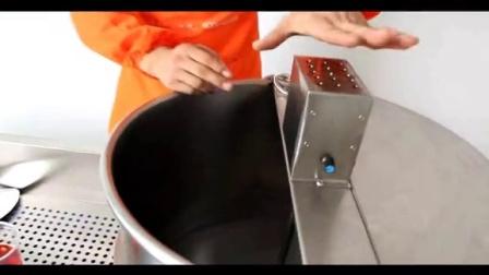 【奇博士】美式球形爆米花机使用方法 台式爆米机操作方法 手炒爆米花机教学教程 球形圆形爆米花制作方法