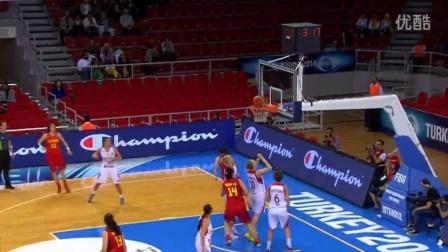 2014女篮世锦赛中国队表现集锦