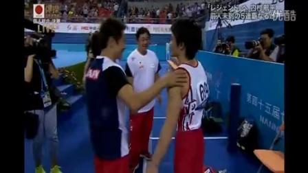 20141009 世界体操 個人総合 鉄棒(内村)