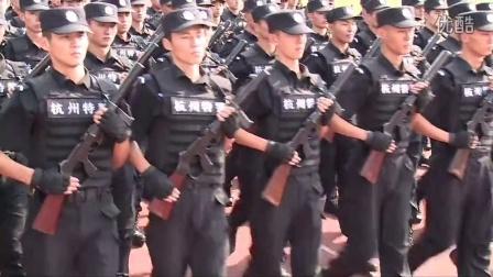 2014年浙江学院家长开放日仪仗方队检阅