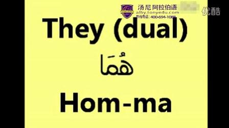 阿拉伯语学习音标字母学习 【汤尼阿拉伯语培训】阿拉伯语字母