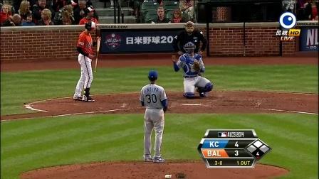 20141012 MLB美联冠军赛 G2 皇家vs金莺 民视 HD 720P 国语