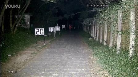 科宁摄像机 模拟高清 AHD 130W 6灯 白光夜视实际测试效果(请选择超清模式观看)