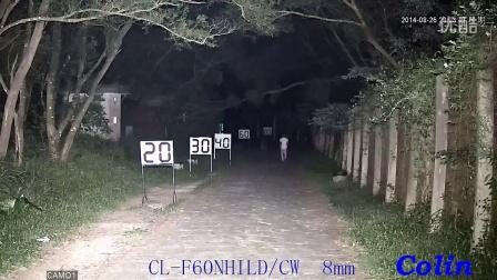 科宁摄像机 网络高清 130W 6灯 白光夜视实际测试效果(请选择超清模式观看)