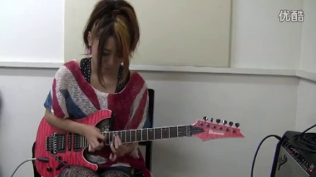 RIRIKA - Satch Boogie(Joe Satriani)を弾いてみました。