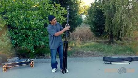 MegaMast - A 27 Foot Tall Carbon Fiber Camera Stand