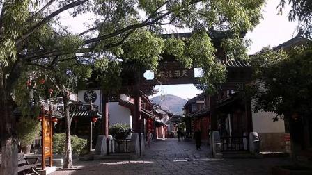 云南丽江古城美景图片