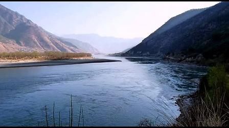 丽江长江第一湾美景图片