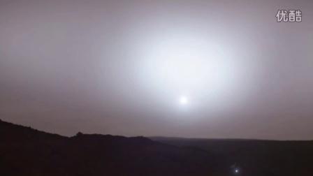 火星日落 | 好奇号