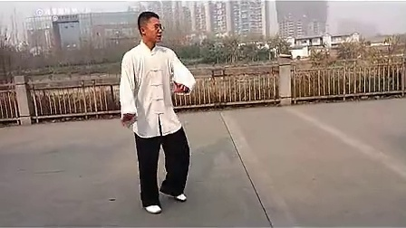 杨大卫讲解传统杨式太极拳85式---第7课搂膝拗步2_标清