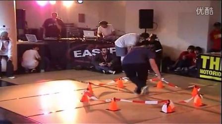 【粉红豹】IBE 2008 Octagon八角形 限制 breaking battle bboy(只能在圈内或圈外)