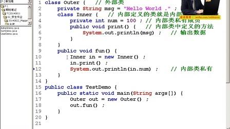 00800047_李兴华【Java核心技术】_内部类
