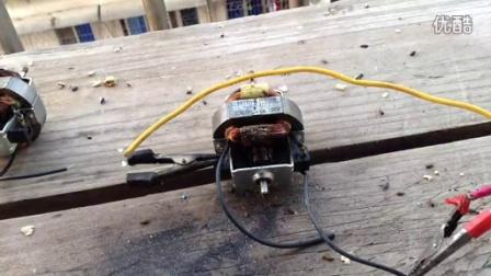 50w串激电机烧毁花絮(我老妈被吓到了)