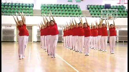 第五套佳木斯快乐舞步健身操完整示范佳木斯快乐舞步完整版第五套僵尸舞广场舞