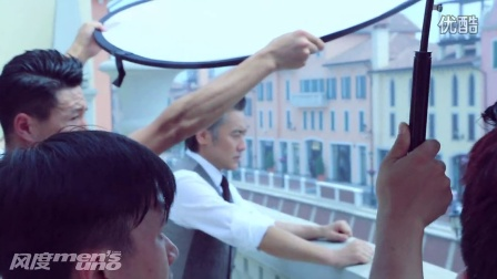 八月《风度mensuno》封面人物吴秀波