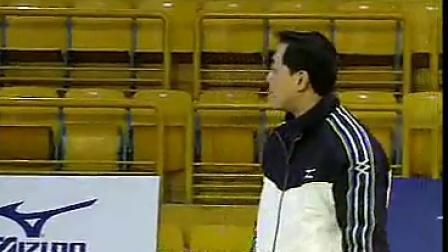 排球教学视频17 低姿垫球技术、跳飘球、接发球