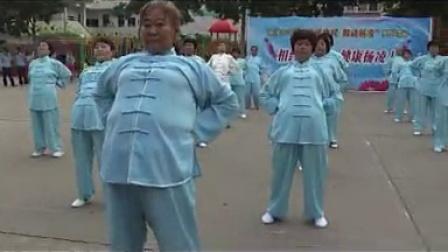 杨陵区2014公园广场舞 摄像 王随昌