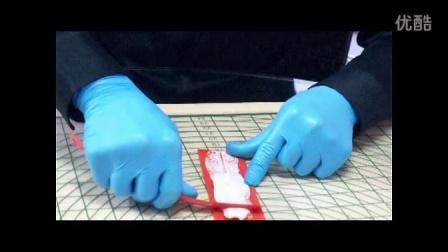德克瑞斯 翻糖工具翻糖膏蕾丝粉的使用