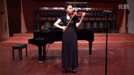 Rumeng Liao BM Violin–The scale of D major and B minor