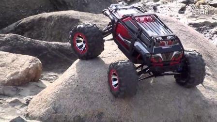 威海极限RC模型店 大S挑战碎石坑2 traxxas summit