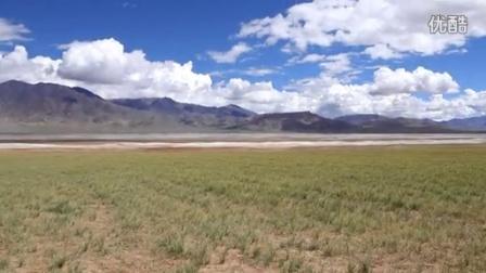 阿里地区革吉县境内的小盐湖(2014.09.02)