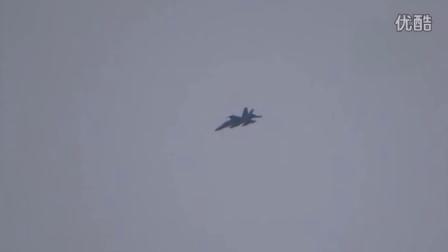 科巴尼上空的美军战机