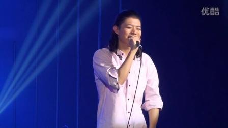 2014.10.25 南京《霍尊红牛不插电演唱会》--返场