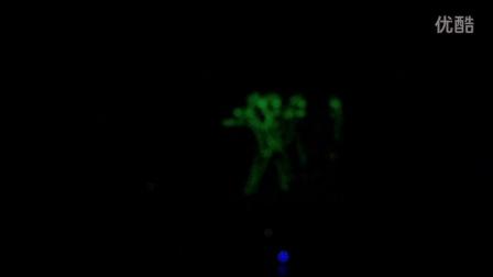 凯舟演艺商城2014年10月24日~25日北京北拉菲特城堡酒店七牛云存储三周年答谢会现场电光舞表演