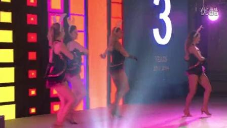 2014年10月24~25日北京北拉菲特城堡酒店七牛云存储三周年答谢会/外籍舞蹈现场