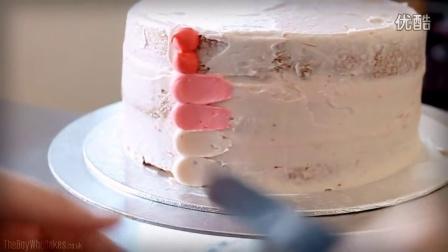 分享篇--蛋糕装饰 Ombre Cake