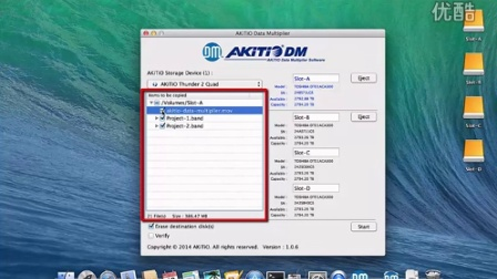 AKiTiO Data Multiplier - How to backup files_(720p)