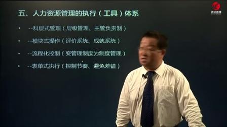杨贵敏—企业人力资源体系构建实操1