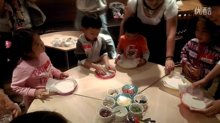 迪斯尼英语课外活动——DIY PIZZA