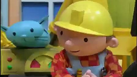 阳光宝贝屋 儿童动画片巴布BOB巴布工程师 合金车玩具套装 广