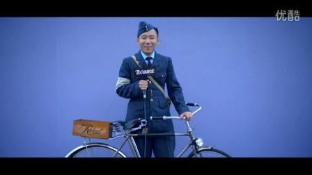 700BIKE街拍:上海复古骑行 复古服饰与单车的完美诠释