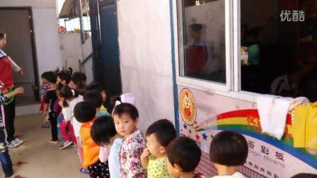 盈江县好宝物幼儿园小一班排队、入厕、喝水、洗手