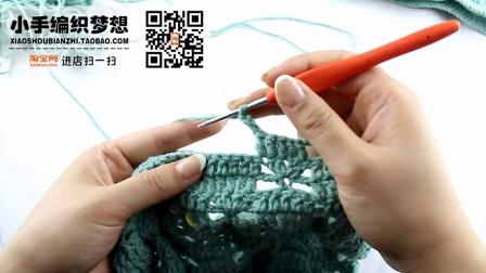 小手编织梦想-夹克熊秋冬儿童钩针长袖毛线编织教程(下部)