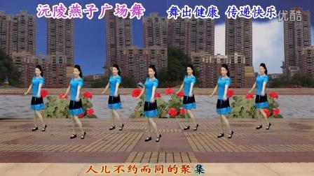 沅陵燕子广场舞《我爱广场舞》(附背面演示)