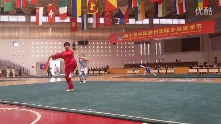国际冠军薛良兴-陈氏太极刀2014年10月(国际少林武术节)