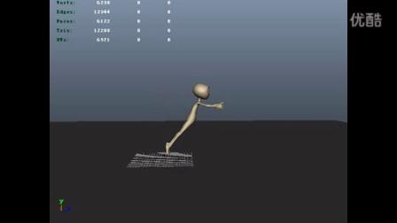 人物原地跳跃动画