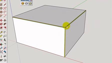 SketchUp倒角圆角roundcorner插件安装_libfredo6.3