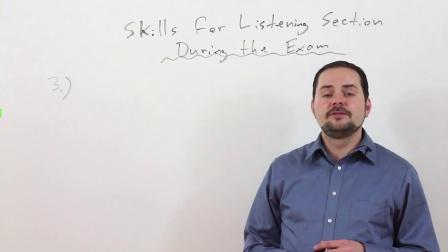 雅思: 掌握听力技巧第三和第四部分