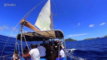 斐济南海游轮 - 浪花号一日航行 (Seaspray day sailing)