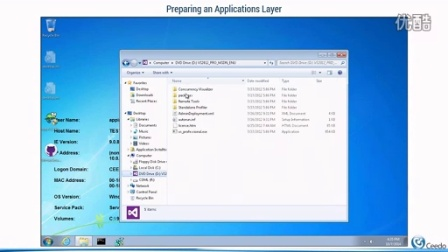 CeedoDesktop for Deploying Pooled Applications Layer