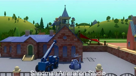 SANDMAN ANIMATION STUDIO - KIERON SEAMONS - Bob the builder 3D