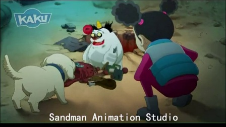SANDMAN ANIMATION STUDIO - KIERON SEAMONS - China5000 -MANGA ANIMATION